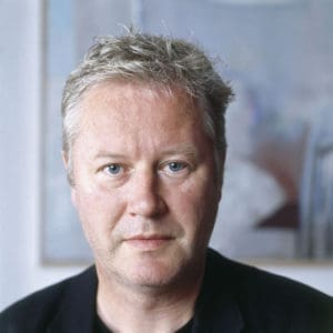 portret van dichter Erik Menkveld foto Bert Nienhuis, 2005