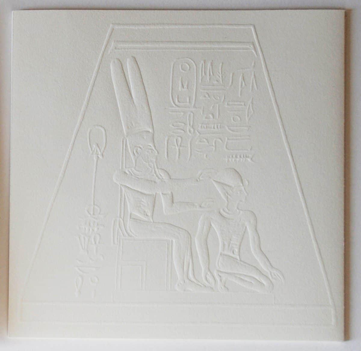 Amon Ra hieroglief Lies Verdenius
