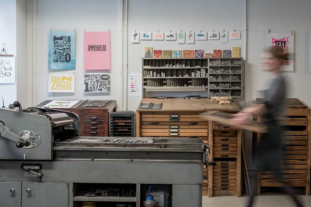 Studio zeedauw drukwerk in de marge